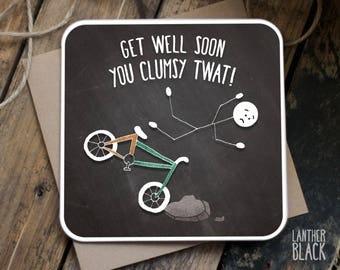 Funny Get Well Soon Card / Get Well Soon / Funny sympathy card / Sarcastic Get Well Card / Sarcastic Sympathy card / SM01