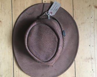Jackaroo Leather Australian Hat