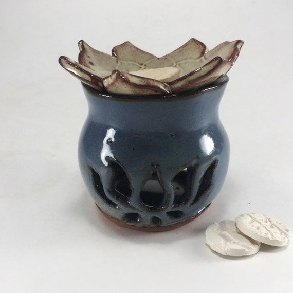 Ceramic Candle Warmer ~ Items similar to ceramic oil warmer candle lotus