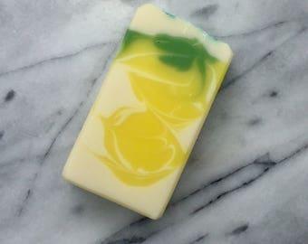 Lemon Verbena soap, cold process soap, bar soap, body soap