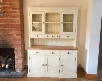 Handmade painted pine dresser