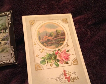 Lovely vintage 1910 greeting card