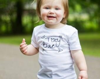 Tiny Bae Cute Baby Onesie, Baby Onesie Funny, Onesie Funny, Baby Bodysuit, Baby Girl Onesie, Onesie boy, Onesie Girl, Onesie Funny, Baby