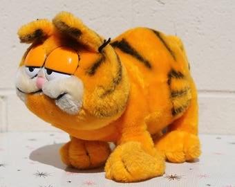 Vintage Garfield the Cat Plush Stuffed Toy 1981