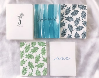 Tropical Philippines card set (10 cards)