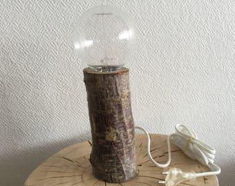 Wooden lamp model Brach