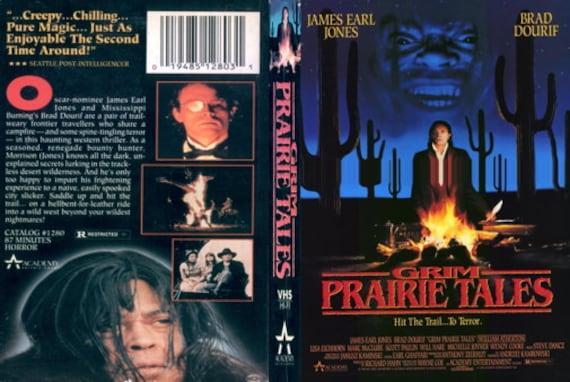 Grim Prairie Tales DVD 1990 Very Rare James Earl Jones Brad Dourif