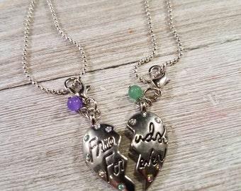 Best Friends Charm Necklace