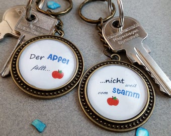 "Key fob ""Mother & daughter"""