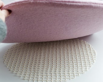 Antirutschunterlage for seat cushions