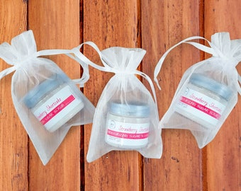 Bridal Shower Favors - Wedding Shower Gifts - Whipped Sugar Scrub - Wedding Shower Favors
