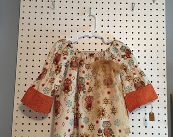 Fall owls - size 3T