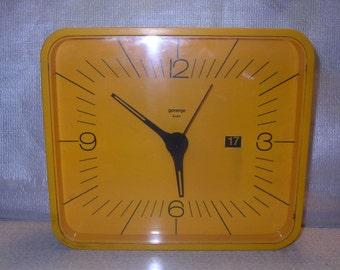 Vintage Wall Clock / Gorenje Yugoslavia