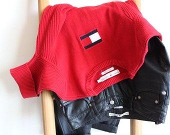 Vintage Tommy Hilfiger Red Top Classic