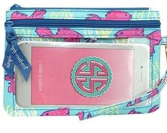 Simply Southern Phone Wristlet Wallet-Hampton