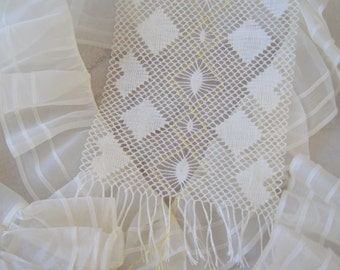 Scarf lace lace letter download instructions Scarfs bobbin lace pattern download instructions