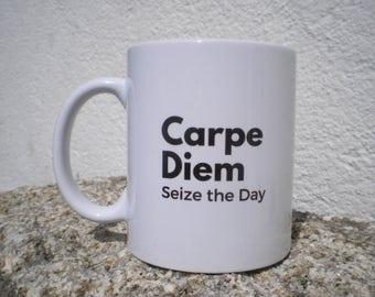 MUG-Carpe Diem Mug-Ceramic Mug