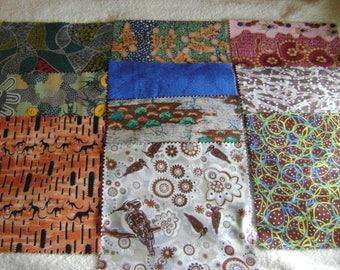 "Dreamtime Australian Aboriginal  Square Pack 10"" by 10"" Precut Pack by M & S Textiles, Multicolor Prints"