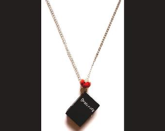 Death Note Necklace,L, Misa, Ryuk, Near, Yagami,Birthday,Gift,Kawaii,Easter Gift,Clock,Watch