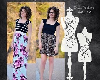 The Daydream Dress (Women's Sizes) PDF Sewing Pattern