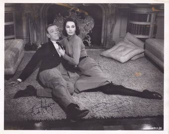 Picture of Fred Astaire and Cyd Charisse ~ Signed by Both Fred and Cyd - pre-owned (SS)