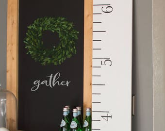 White Growth Chart Ruler