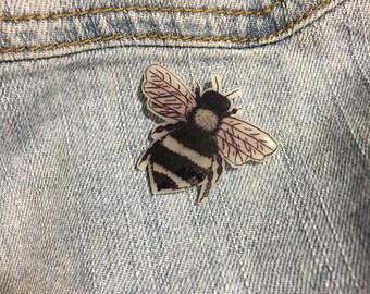 Handmade Honey Bee Pin
