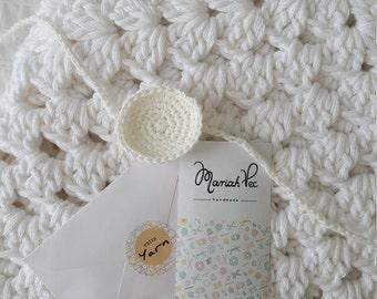 Cotton Baby Blanket Baby Shower Baby Gift Birth Nursery Deco