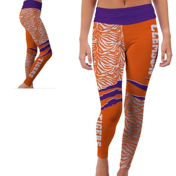 Clemson Tigers Yoga Pants Designs