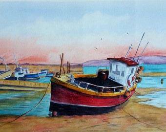 Original watercolour artwork - by Judit Szabo
