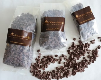 Vegan Organic Rice Milk Chocolate Buttons available in 100g/250g/500g Birthday Gifts, Christmas gifts