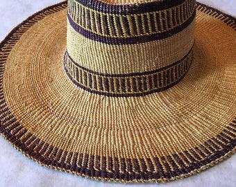 Fun wicker sun hat!