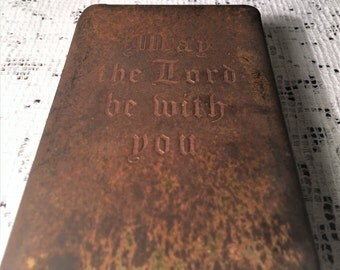 Salvation Army Chicago Bullet-Proof Bible New Testament Owner Signed Lieutenant McMillian