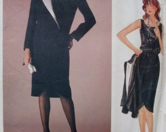 Vogue 1233, Vogue Designer Original Pattern, Valentino Vogue Pattern, Vogue Valentino Pattern 1233