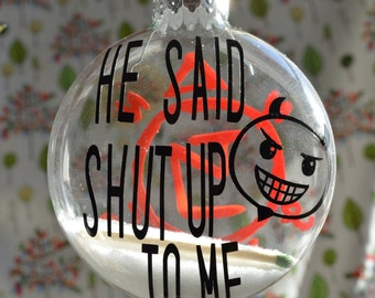 Lucifer Character Ornament