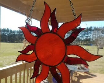 Beautiful stained glass sun catcher