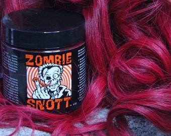 "Zombie Snott ""Blood Orchid"" BRAND NEW long-lasting hair color to DYE for! - 4oz Jar"