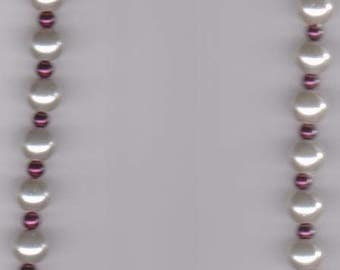Christmas Elegance Beaded Necklace