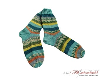 Handknitted socks size 38-40