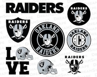 Oakland Raiders SVG, American Football SVG Cut Files, Oakland Raiders Football, Oakland Raiders, Oakland Raiders SVG Files, Instant Download