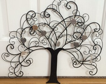 Hand Stamped Family Tree