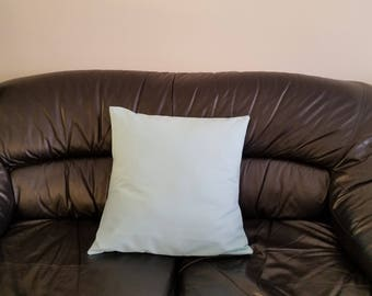 Blue Ice / Cotton Twill Cushion Cover