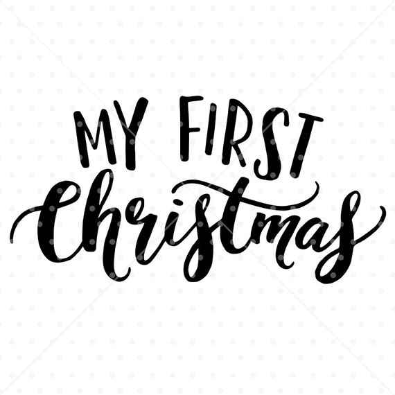 Baby First Christmas Photo Frame