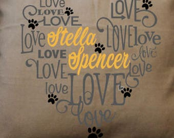 Pet Mom Mother's Day Pillow