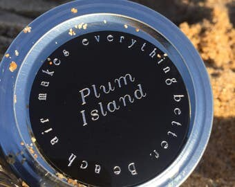 Plum Island Sand and Air Collection Jar