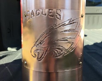 Philadelphia Eagle copper lamp (lamp shade not included)