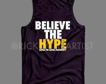 "ALPHA PHI ALPHA ""Hype"" T-Shirt"