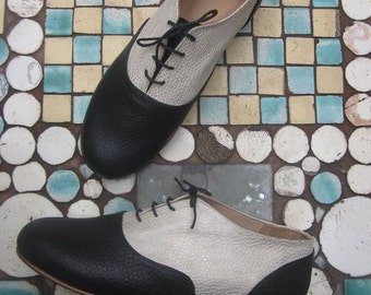 Handmade Leather Oxford Shoe