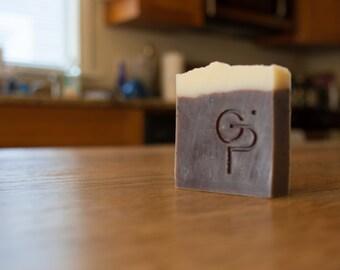 Orange-Coffee-Peppermint Handmade Vegan Soap by Gauche Pajama
