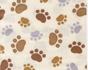 Dog by Timeless Treasures Fabric by the Yard c5856-cream